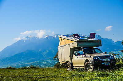 Mitsubishi L200 with camper cabin – Germany