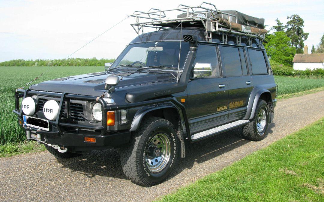 Nissan Safari 4.2 Turbo Diesel (Patrol GR SLX) – 1994 Y60 Overland/Expedition Prepared Vehicle – UK