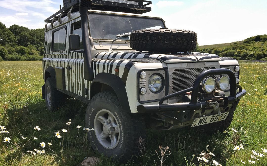 Land Rover 110 Td5 – Extensively Prepped – UK