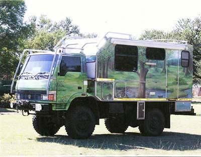 Tata 4×4 Ex-Military Camper – South Africa – €50,000