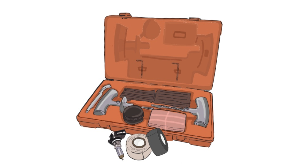 Overland essentials - spares
