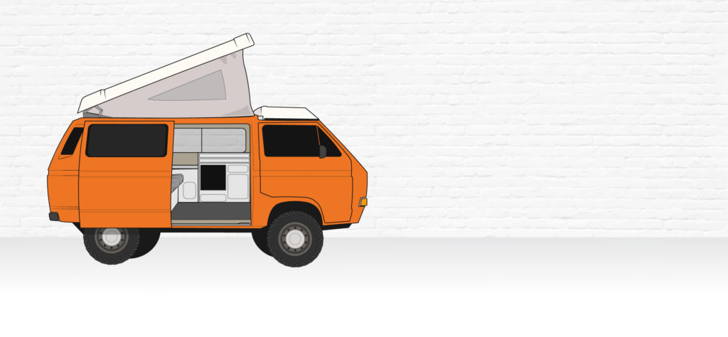 VW Synchro 4x4 illustration