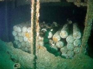 munitions dump