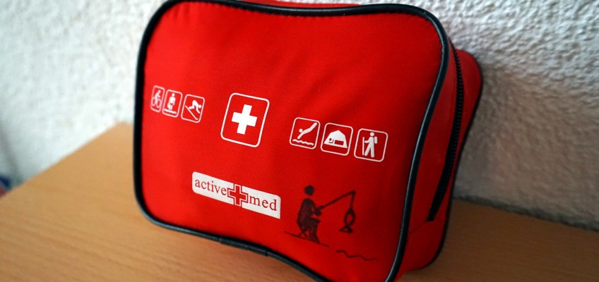 My travel first-aid kit