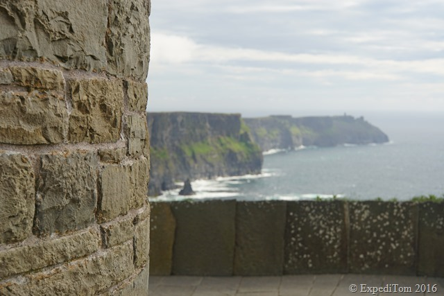 The O'Briens' Tower on the Cliff of Moher