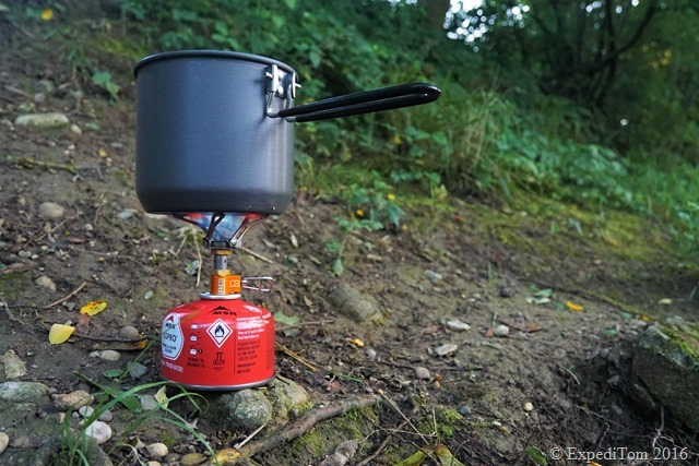 LACD Gas Stove Ultralight Titan ExpediTom2