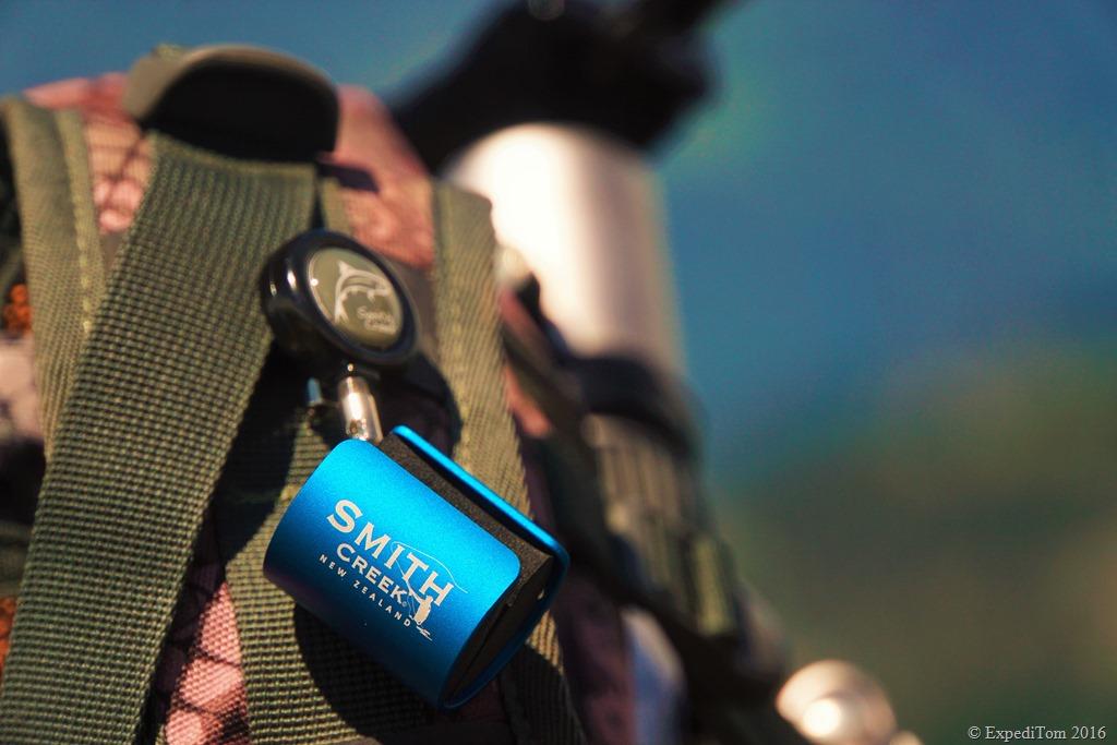 Smith Creek Rod Clip close-up