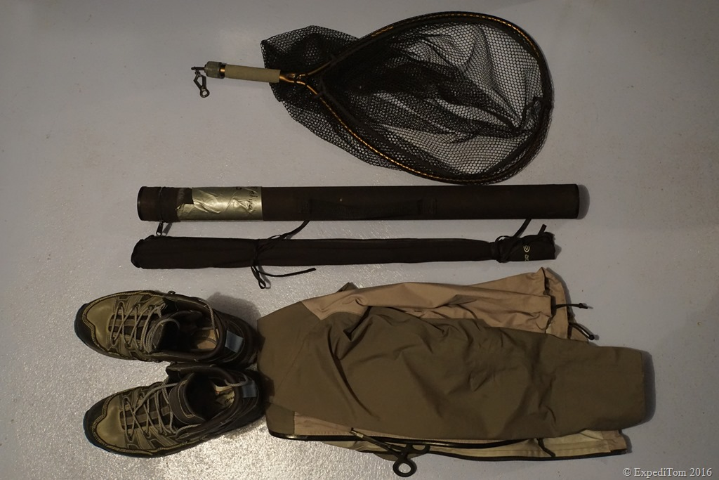 Packing list for a two days fly fishing trip expeditom for Fishing gear list