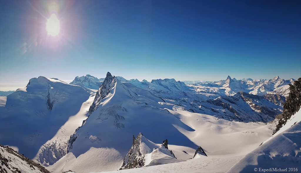 Snowshoeing to the Allalinhorn Mountain 4027 Meters – Guest Article