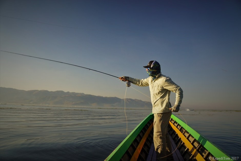 Fly Fishing at Inle Lake Myanmar (7)