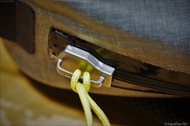 YKK Flexseal zipper of the Orvis waterproof Sling Pack