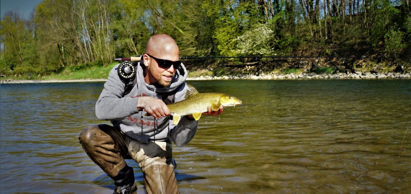 Fly Fishing the Aare in Switzerland – Barbel on the Nymph