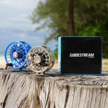 Guidestream Fly Reel: The Rise #3-4 and Drift #5-6