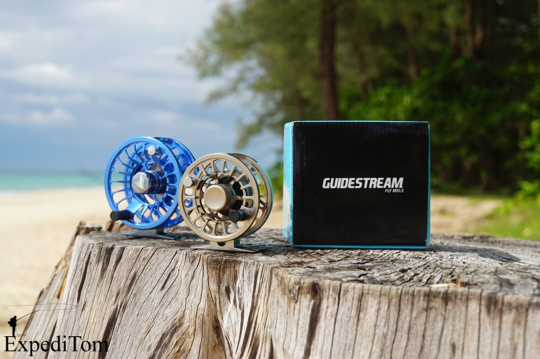 Guidestream fly reels Rise and Drift