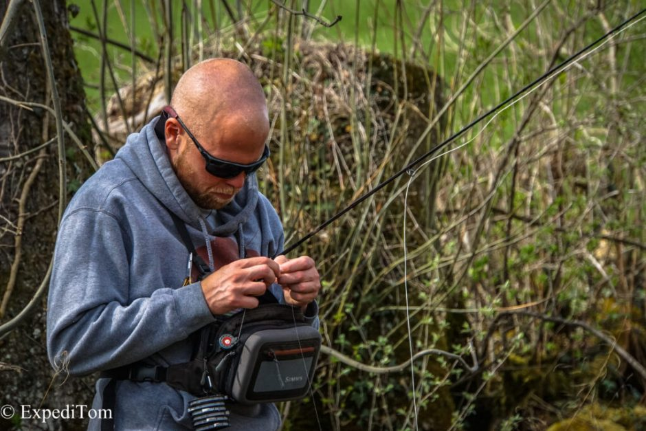 Small Stream Fly Fishing in Switzerland with Claudio