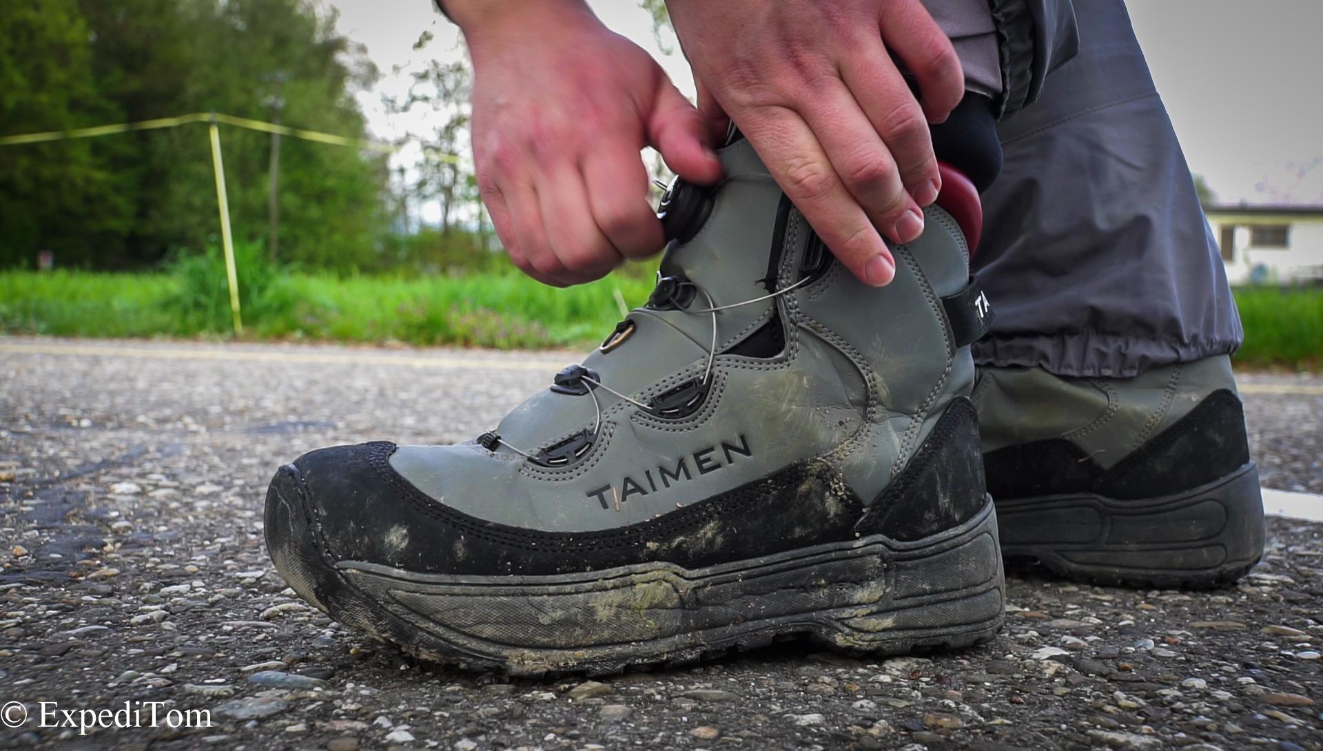 Taimen Khatanga Wading Boots Review