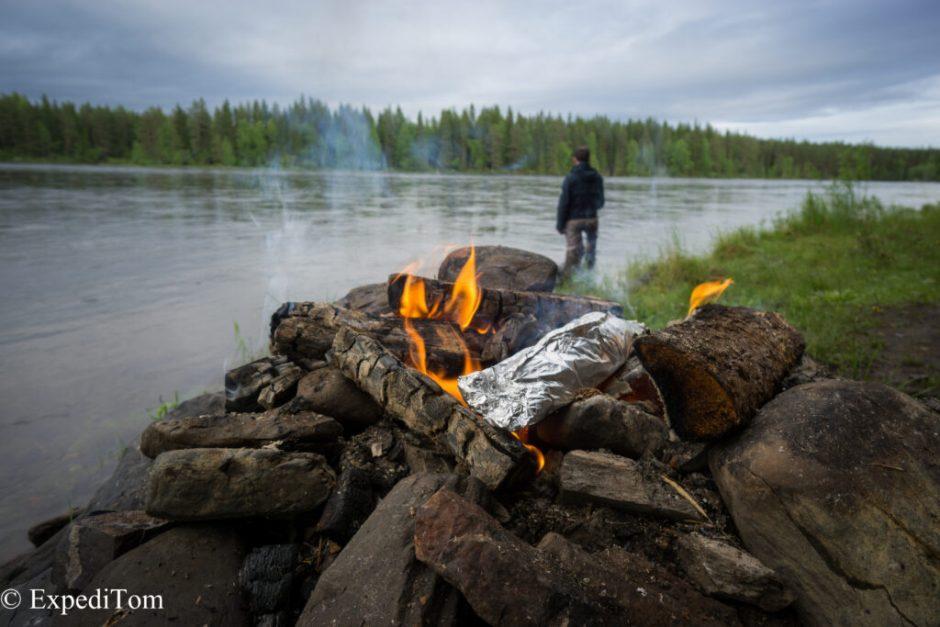 Fly fishing Jämtland: the Hårkan river
