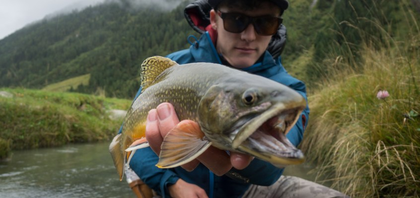 Fly Fishing in Austria at Hotel Braurup, Mittersill