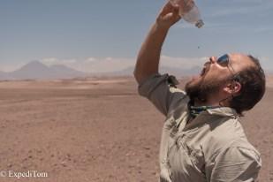When the desert ties up your throat