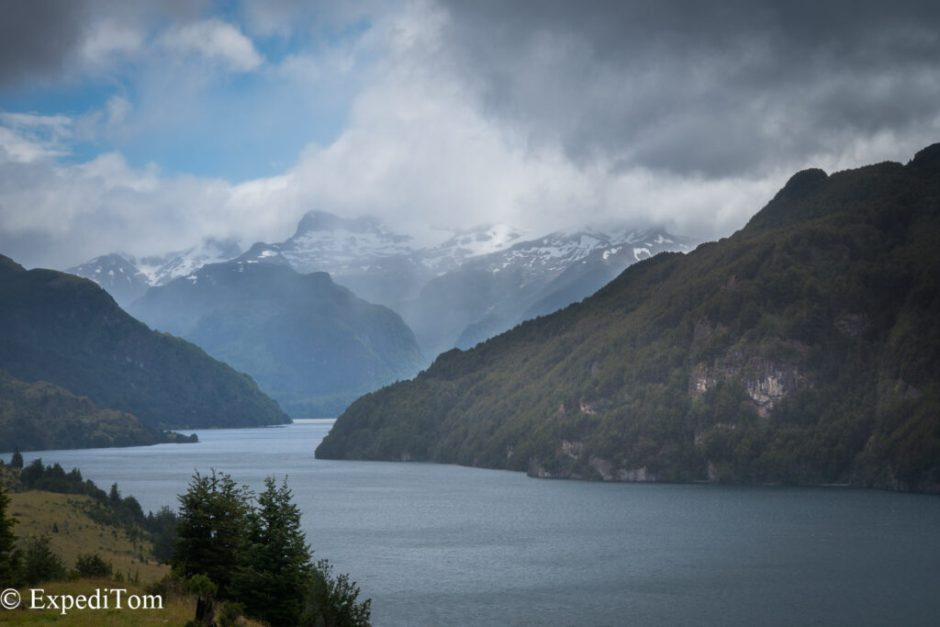 Fly fishing in Patagonia Chile on a budget: The weather is volatile