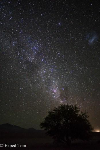 Nightsky in the Atacama Desert