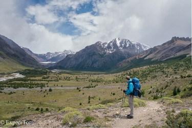 Day 1 Hiking Trekking Huemul Trek 2018 Argentina