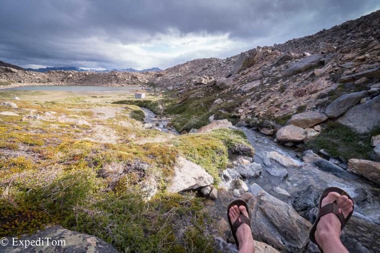 Huemul Trek 2018 Day 2 Camp Trekking Outdoor