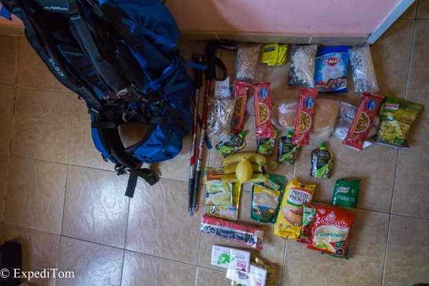 Huemul Trek 2018 packing list gear preparation (4)