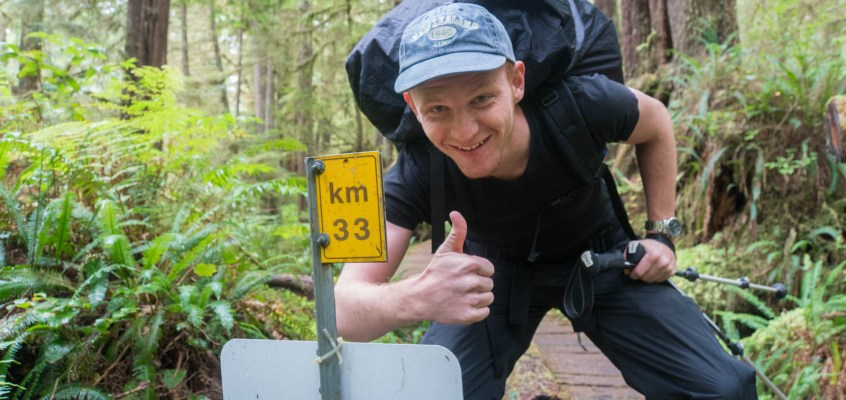 West Coast Trail – Day 1 The Map