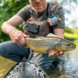 Fly Fishing Switzerland in Summer: Heatwave