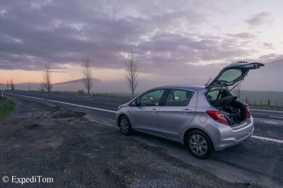 Apex rental car issue Toyota Yaris