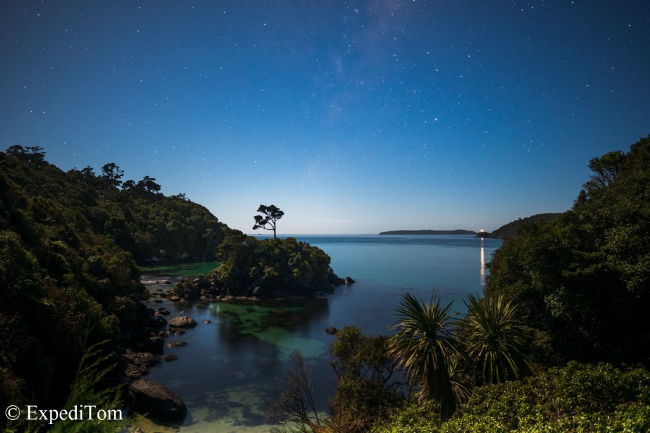 Magnificent bays looking like a tropical Island