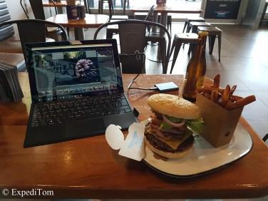 Last supper - Burgerfuel what else?