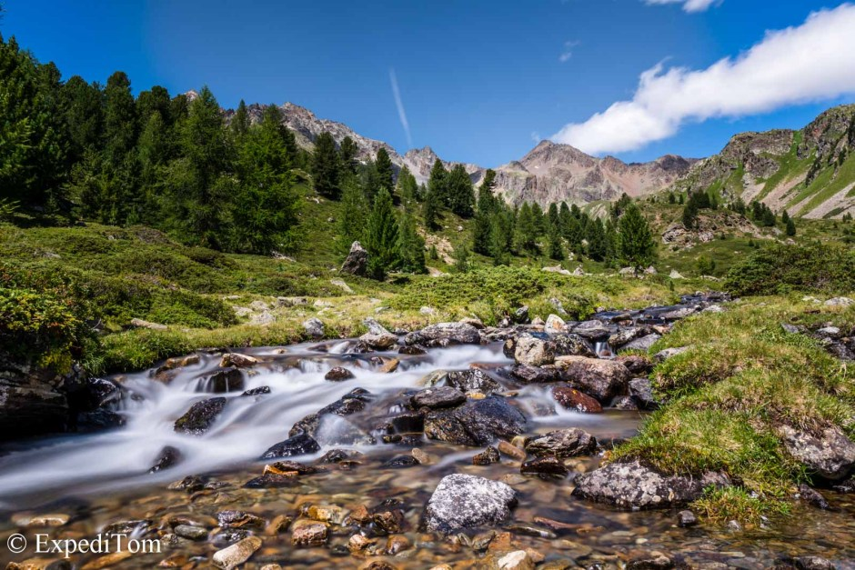Gin-clear creeks in the Swiss Alps. Join now!