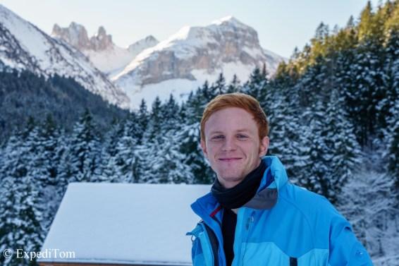 Travel buddy and adventurer Philippe