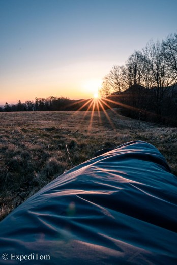 Morning views from the bivy