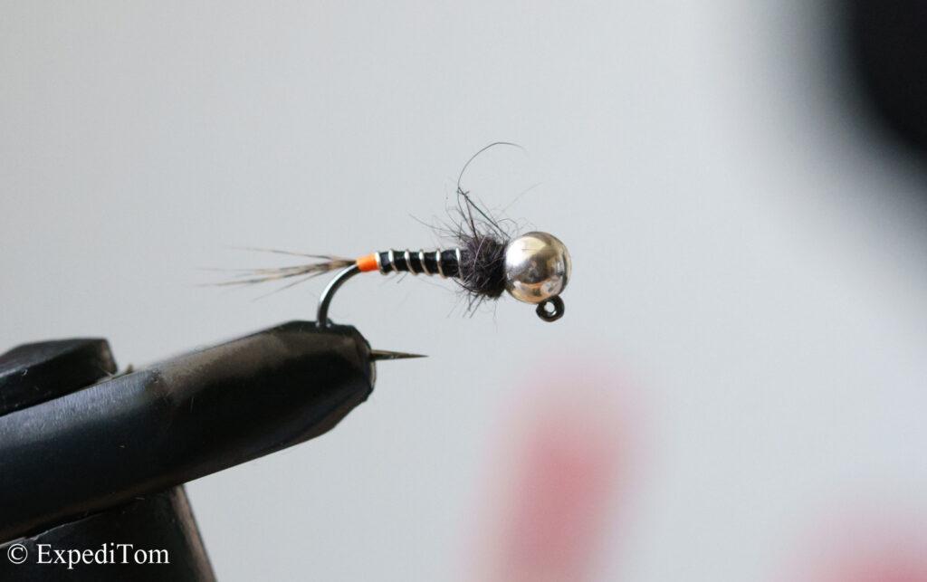 Heavy jig nymph for fishing deep
