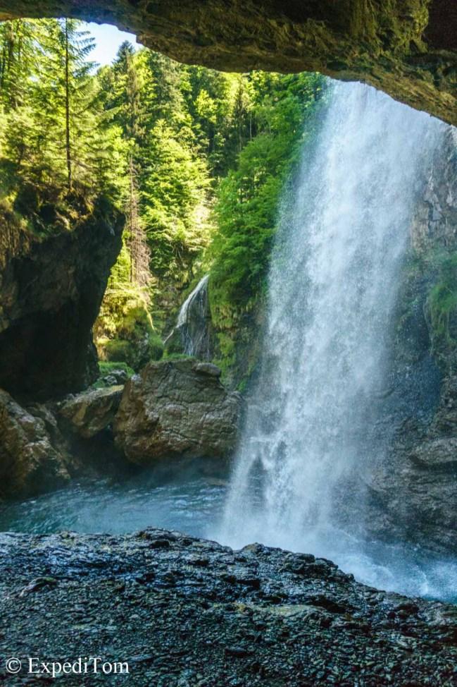 Bärglistüber Waterfall