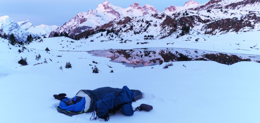 Alone in the Snow – A Bivouack Adventure
