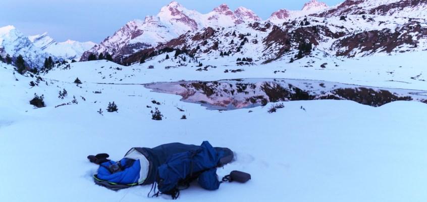 Alone in the Snow I – A Bivouack Adventure