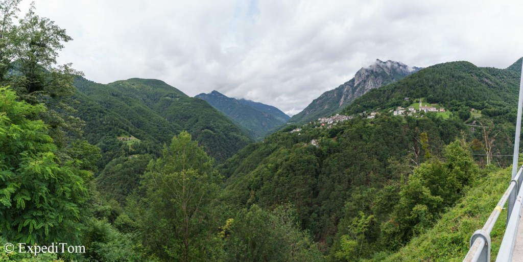 Fly fishing in Ticino among rolling, green hills and deep chutes