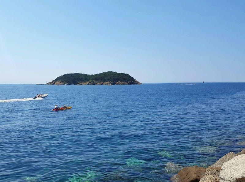 Kayak Ile verte Expenature La Ciotat