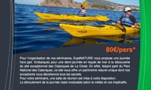 Séminaire-Kayak de mer La Ciotat