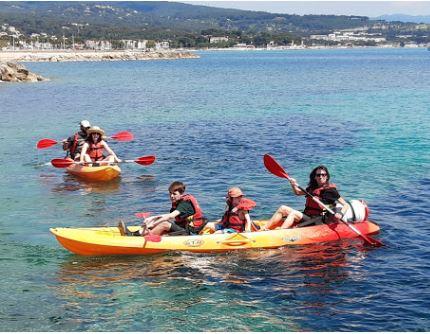 2021-04-23, Sorties Guide Canoë-Kayak Méditerranée Côte D'Azur Nice Canes St Tropez Hyères ou locations SUP Paddle Calanques
