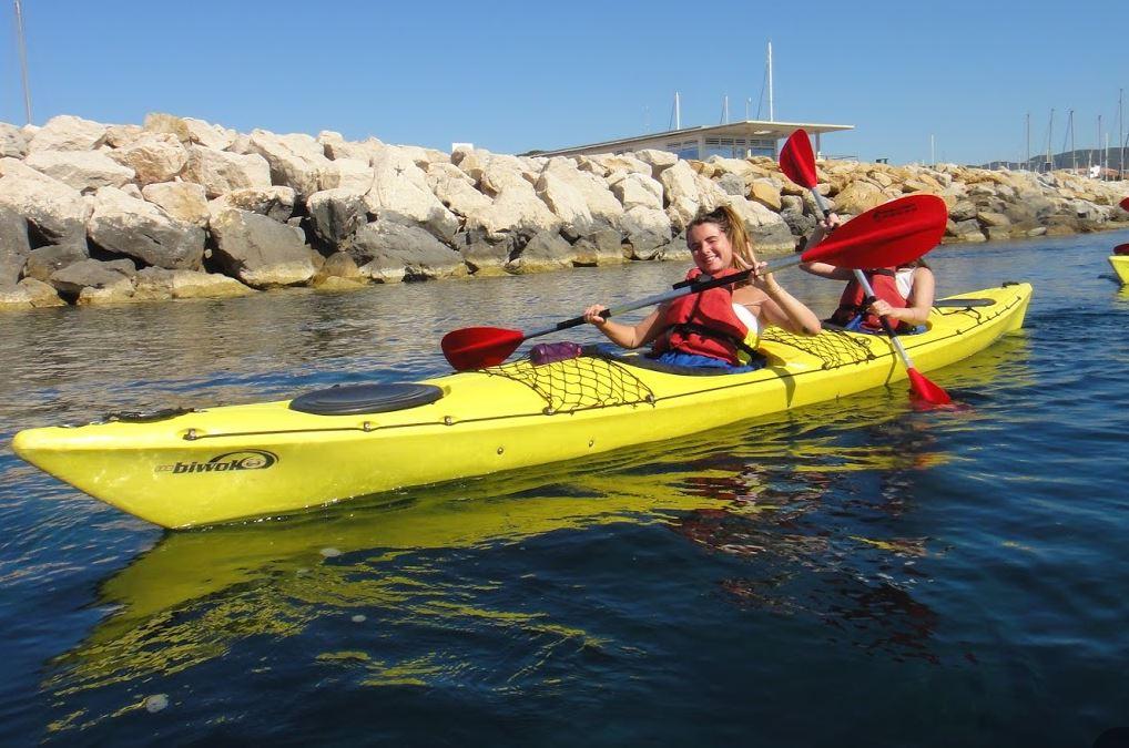 calanques expenature la ciotat marseille sanary sud mer soleil photos expérience loisir kayak rando canoe