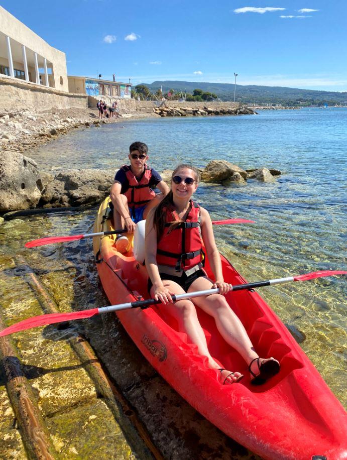 2021-07-16 Location kayak paddle calanques de la ciotat