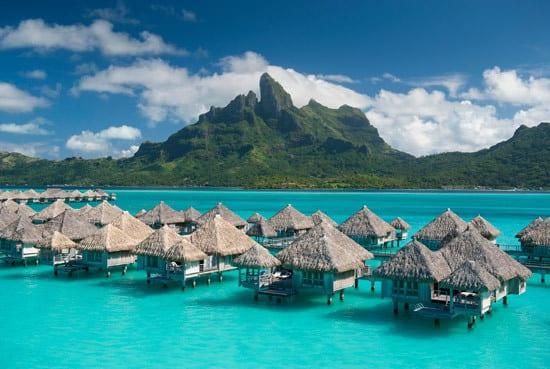 St. Regis Bora Bora Resort is a first class resort