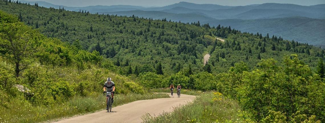 Gravel Bike Race at Spruce Knob