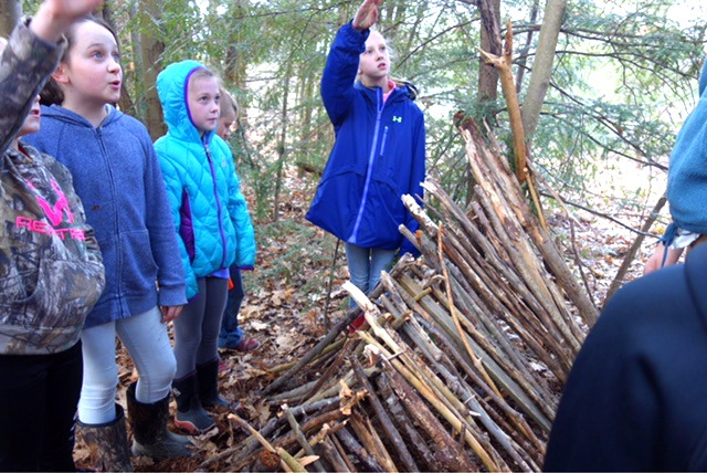 Wild Winter Learning with Crellin Elementary Students