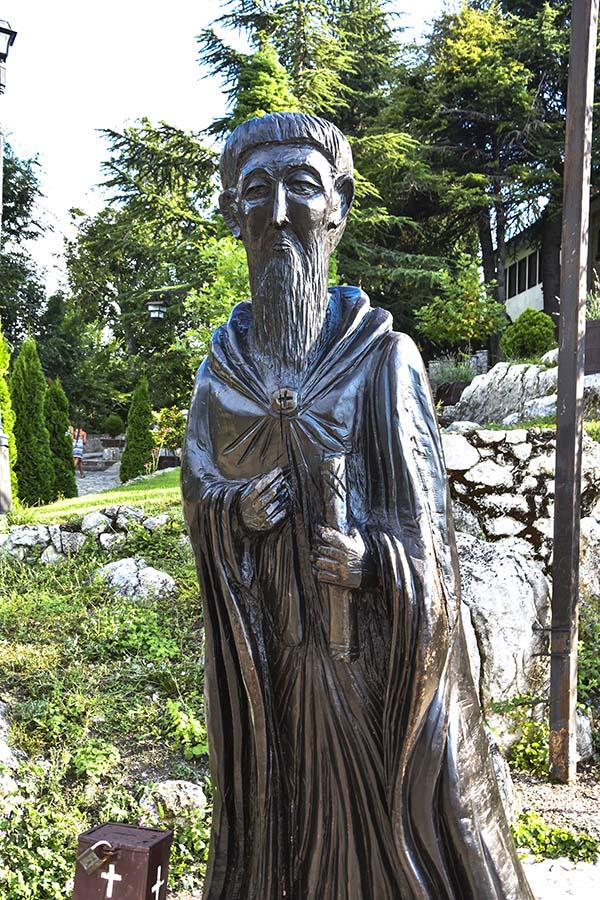 St.Naum-sculpture